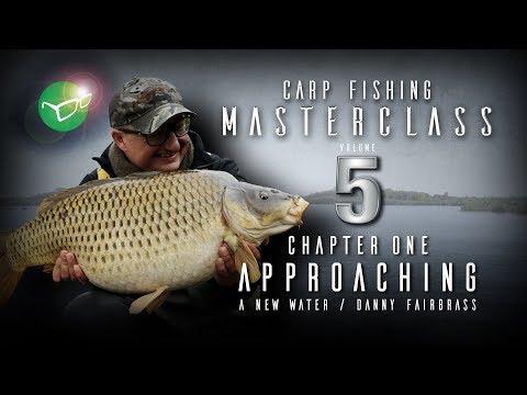 Korda Carp Fishing Masterclass 5: Approaching a new water | Danny Fairbrass | Free DVD 2018