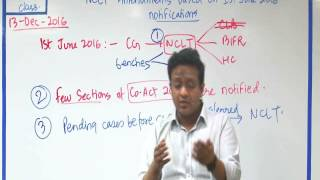 Amendment Class Companies Act 2013 for Dec 2016 & May 2017 Exam - 1st Part