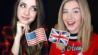 [ASMR?] Accent Tag Challenge - American vs. English