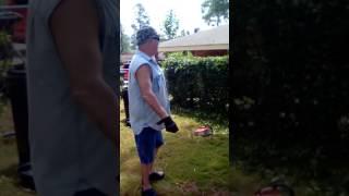 Neighbors helping neighbors...