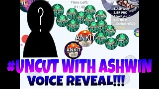 AGAR.IO MOBILE #UNCUT EPIC CANNONSPLITS/BAITS AND DESTROYING UBO CLAN [BEST MOMENTS W/ ASHWIN]