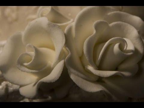 Decorazioni in pasta di zucchero rose Cake Decorating flower rose Fondant