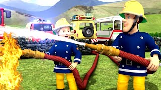 Fireman Sam New Episodes   SPECIAL Happy Birthday Sam ⭐ Norman Fires Up Dilys Birthday   Kids Movies