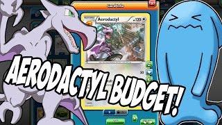 PTCGO New Aerodactyl Budget Deck for Standard! Best Budget deck you can build and Anti Decidueye