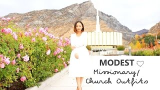 Modest Church/ Missionary Outfits ❤