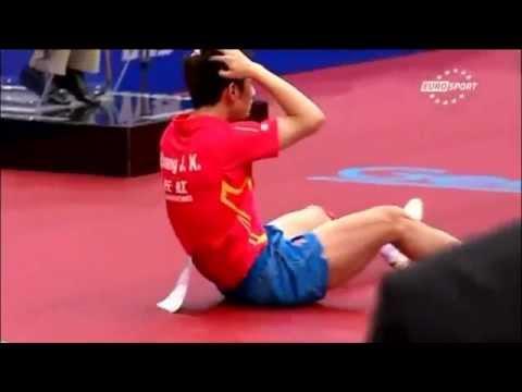 Zhang Jike - World Champion or small boy
