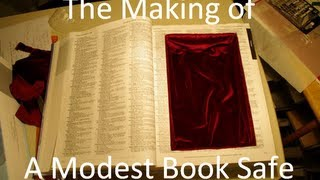 Making a Book Safe