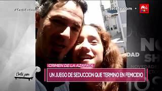 El impactante video del crimen de la Azafata - Cortá por Lozano