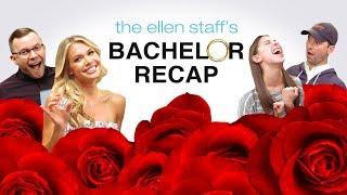 The Ellen Staff's 'Bachelor' Recap Special: Krystal Plays Truth or Shot!