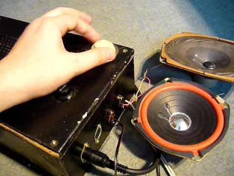 Pozostałość po gramofonie BAMBINO