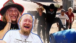 REACTING to our first Dudesons in America Episode