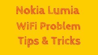 Nokia Lumia Windows 8 WiFi Connection Problem Tips & Tricks.