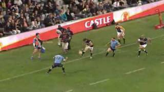 Sharks beat the Bulls Currie Cup 2010