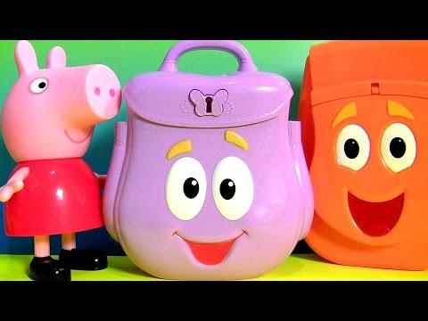 Mochila da Dora a Aventureira Dora The Explorer Surprise Eggs Dora Backpack Surprise sac à dos