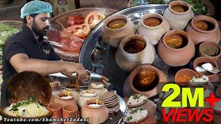 Traditional Pot Biryani | Special Handi Biryani | Matka Biryani at Hussainabad Street food Karachi