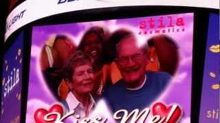Selena Gomez Justin Bieber on the Kiss Cam at the Lakers vs Spurs Game