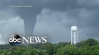 Historic floods, tornadoes continue across the US