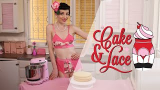 Cake & Lace, Episode 10 - Sexy Baking in Lingerie for Valentines Day!
