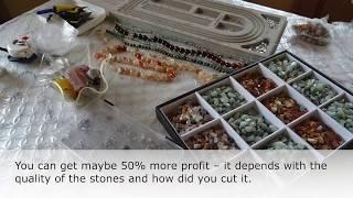 Trading gemstones in Tanzania: Shamsa Diwani