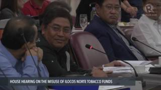Ilocos Norte's tobacco funds go to Imee's pet projects