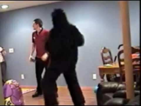 Gorilla Attack Prank