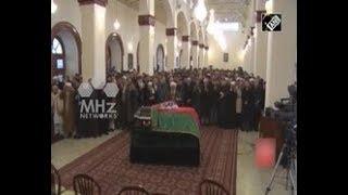 Former Afghan Interim President Mujaddedi laid to rest