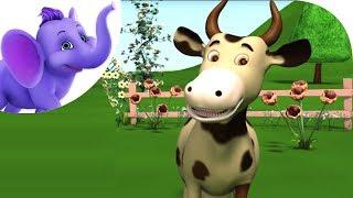 Welcome Cow - Nursery Rhyme with Karaoke