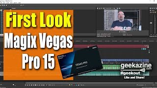 Vegas Pro 15 First Look, New Features Explained!