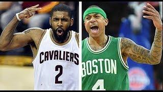 NBA PLAYERS React To Kyrie Irving / Isaiah Thomas Blockbuster Trade ( Dwyane Wade, Dwight Howard )