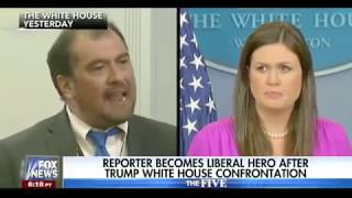 Reporter Becomes Liberal Hero To Chris Matthews After Trump White House Confrontation
