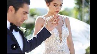 Свадьба Неслихан Атагюль - первые кадры, свадебное платье турецкой актрисы