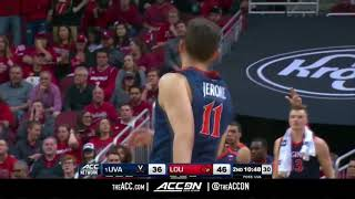 Virginia vs Louisville College Basketball Condensed Game 2018