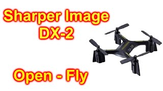 Sharper Image DX-2 Stunt Drone Unbox and Fly First Flight DX2