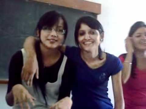 masti by rohit vohra in class room panjab university chandigarh