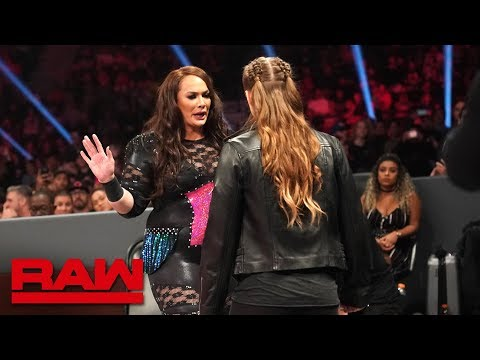 Xxx Mp4 Ronda Rousey And Nia Jax S Face To Face Gets Heated Raw Dec 10 2018 3gp Sex