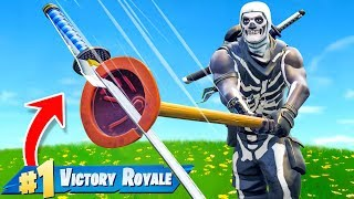 Can You WIN With ONLY A Pickaxe In Fortnite Battle Royale?