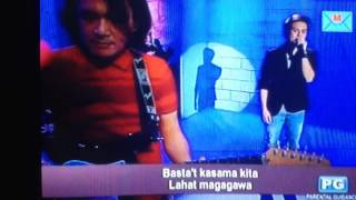Jake Vargas - Basta't Kasama Kita (Tonight With Arnold Clavio)