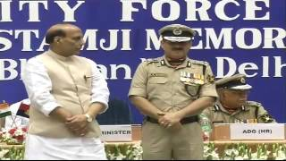 LIVE: Home Minister Rajnath Singh speech at 14th investiture ceremony of BSF in Delhi.