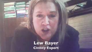 Teaching Civility & Manners - WhereParentsTalk.com interviews Lew Bayer