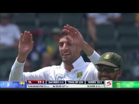 South Africa vs Sri Lanka - 3rd Test - Day 3 - Session 2 Highlights