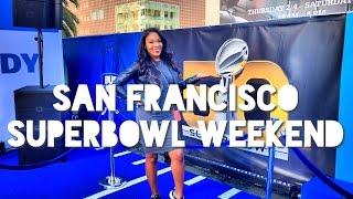 Flight Attendant Life | Travel Vlog | San Francisco Super Bowl Weekend 2016