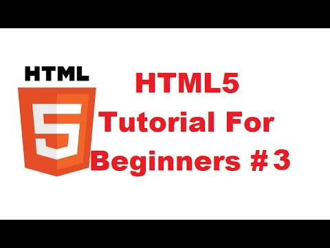 HTML5 Tutorial For Beginners 3 # Basic Structure of HTML