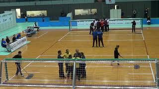 2019 Goalball Japan Para Championships Brazil v Japan 2nd Half