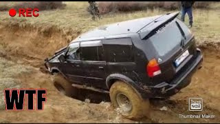 Mitsubishi Challenger Extreme Mudding OFF-ROAD