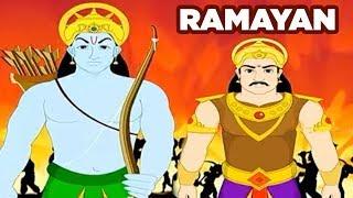 Ramayan | Mythological Stories For Kids | Role Of Kumbhakarna In Ramayan | Masti Ki Paathshaala