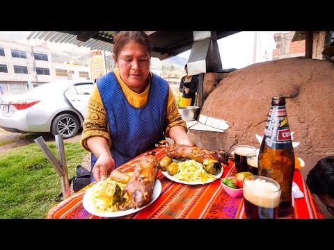 South American Food EXOTIC DELICACY in Cusco Peru Peruvian Food Tour