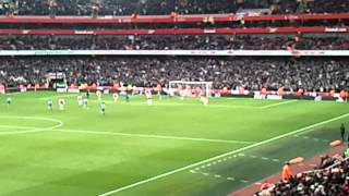 Leeds United scorec at the Emirates