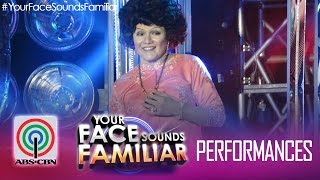 "Your Face Sounds Familiar: Nyoy Volante as Sylvia La Torre - ""Sa Kabukiran"""