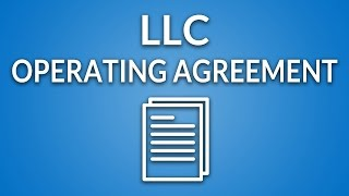 LLC Operating Agreement (template + instructions)