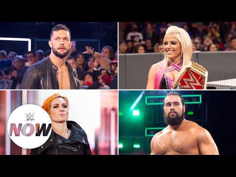 Xxx Mp4 Superstars React To Mixed Match Challenge WWE Now 3gp Sex